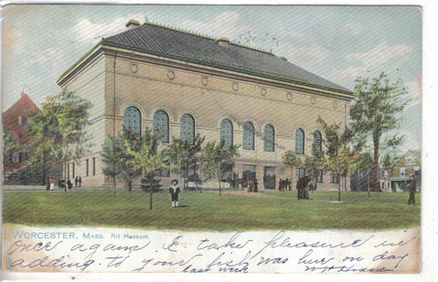 Art Museum-Worcester,Massachusetts 1906-Tuck's - Cakcollectibles - 1
