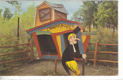 The Crooked House,Story Book Island-Rapid City,Black Hills,South Dakota 1970 - Cakcollectibles