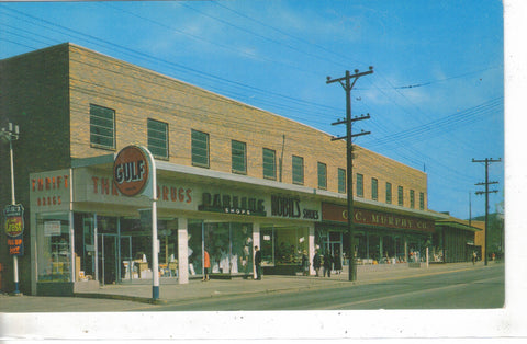 The Weirton Shopping Area- Weirton,West Virginia Post Card