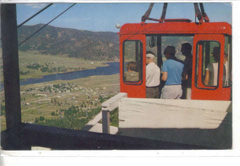 Aerial Tramway - Estes Park,Colorado Post Card - 1