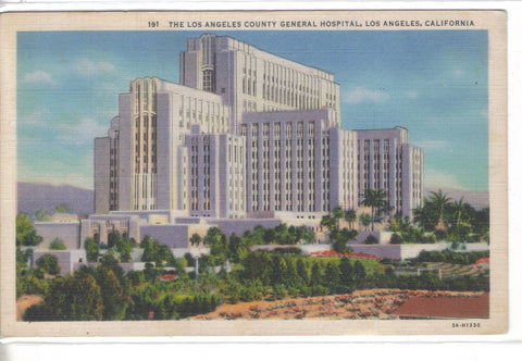 The Los Angeles County General Hospital-Los Angeles,California 1934  - 1