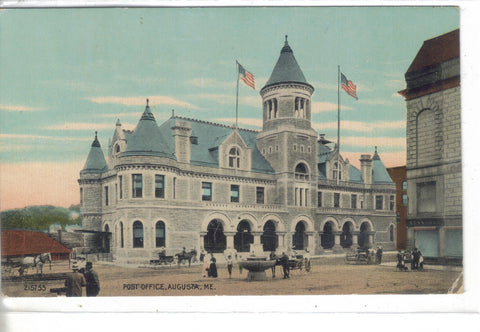 Post Office-Augusta,Maine  - 1