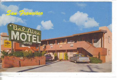 Bel Aire Motel-San Francisco,California  - 1
