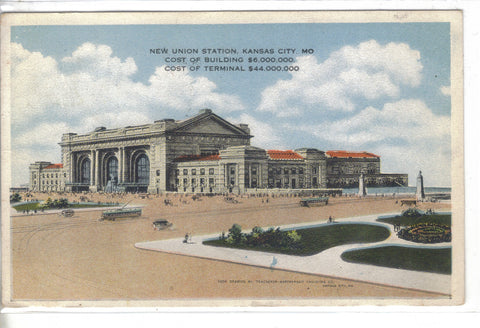 New Union Station-Kansas City,Missouri Post Card - 1