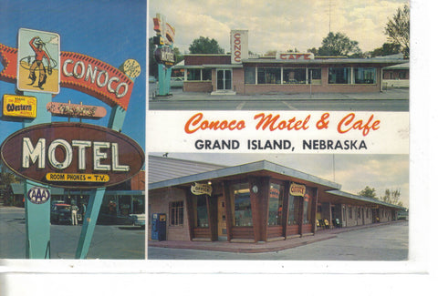 Conoco Motel & Cafe-Grand Island,Nebraska  - 1