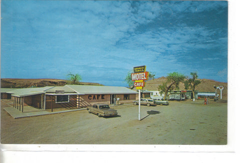 Navajo Trails Motel and Cafe-Tes Nez Iah,Arizona - Cakcollectibles