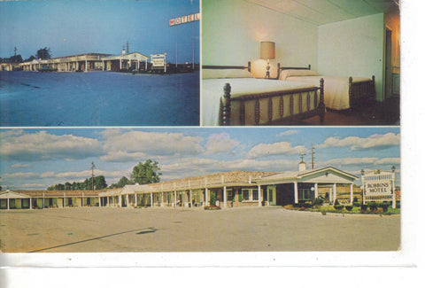 Robbins Motel-Richmond,Kentucky -vintage postcard - 1