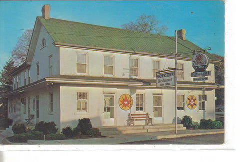 Brownstown Restaurant-Brownstown,Pennsylvania Vintage Postcard front