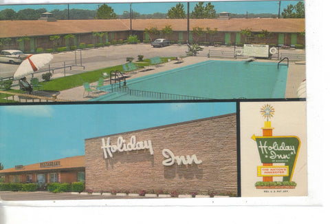 Holiday Inn-Alexandria,Louisiana 1969 -vintage postcard - 1