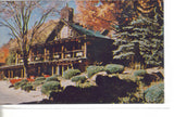 Log Haven Restaurant-Millcreek Canyon-Utah Old Postcard Front