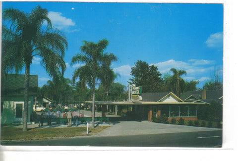 The Johns Motel-Lakeland,Florida -vintage postcard - 1