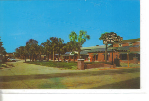 Fort Walton Beach Motel-Fort Walton,Florida Vintage postcard front