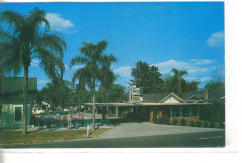 The Johns Motel-Lakeland,Florida - vintage postcard front