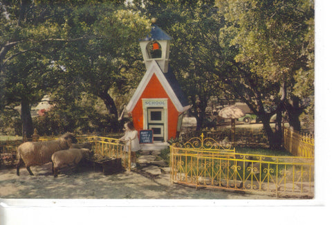 Mary Had A Little Lamb,Children's Fairyland-Oakland,California 1956 - Cakcollectibles - 1