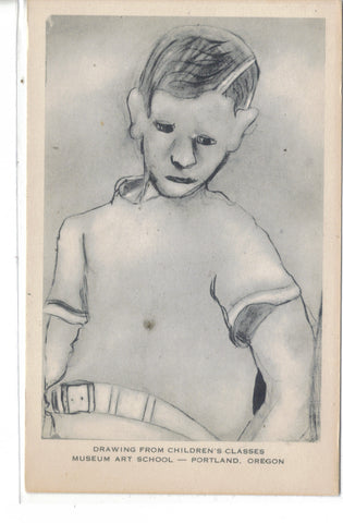 Drawing from Children's Classes,Museum Art School-Portland,Oregon - Cakcollectibles - 1