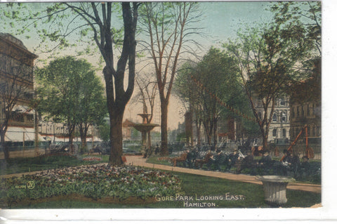 Gore Park,Looking East-Hamilton,Bermuda - Cakcollectibles - 1