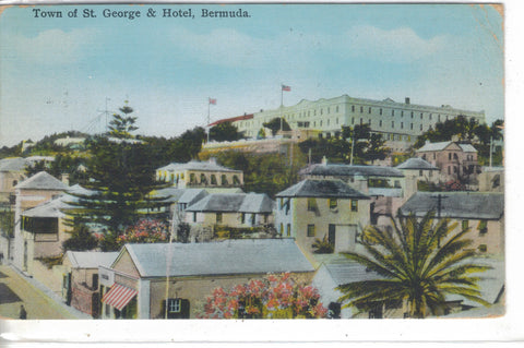 Town of St. George and Hotel-Bermuda 1939 - Cakcollectibles - 1