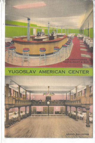 Yugoslav-American Home,Inc.-New York,New York - Cakcollectibles - 1