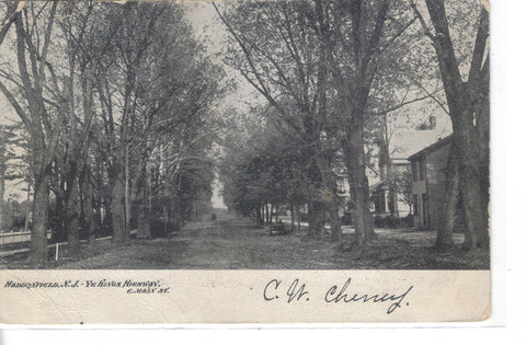 Ye Kings Highway,E. Main Street-Haddonfield,New Jersey 1907 - Cakcollectibles - 1