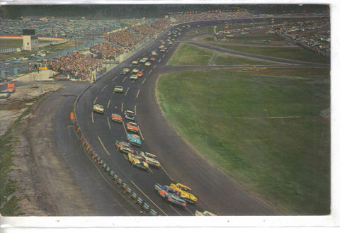 Start of The Daytona 500-The New Daytona Int.Speedway-Daytona Beach,Fl. 1958 - Cakcollectibles - 1