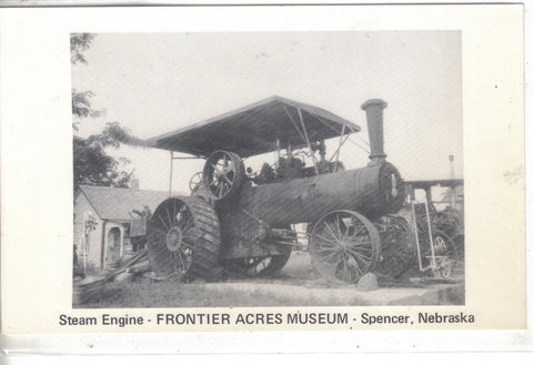 Steam Engine-Frontier Acres Museum-Spencer,Nebraska - Cakcollectibles - 1