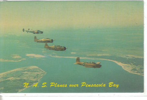 N.A.S. Planes over Pensacola Bay-Florida - Cakcollectibles - 1
