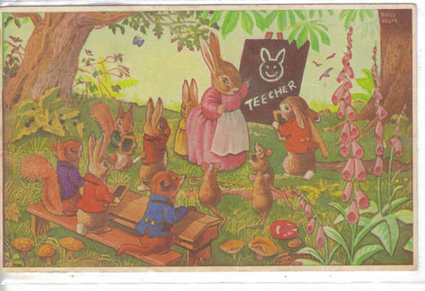 """Who Drew That?"" by Racey Helps-Dressed Rabbits - Cakcollectibles - 1"