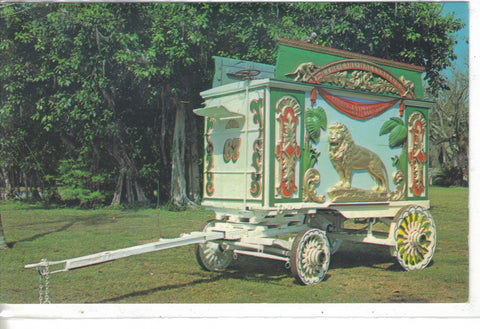 """Lion"" Tableau Wagon-Ringling Museum of The Circus-Sarasoat,Florida 1970 - Cakcollectibles - 1"