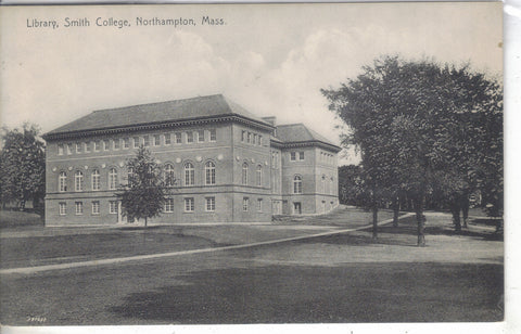 Library,Smith College - Northamton,Massachusetts - Cakcollectibles - 1