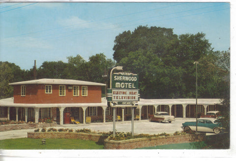 Sherwood Motel-New Orleans,Louisiana 1962 - Cakcollectibles - 1