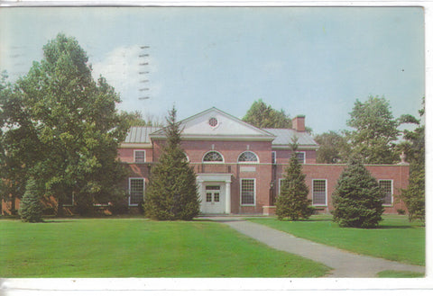 The Library Building,Hanover College-Hanover,Indiana 1953 - Cakcollectibles - 1