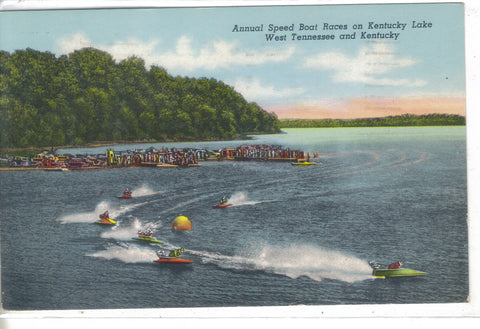 Annual Speed Boat Races on Kentucky Lake-West Tenn. and Kentucky 1960 - Cakcollectibles - 1