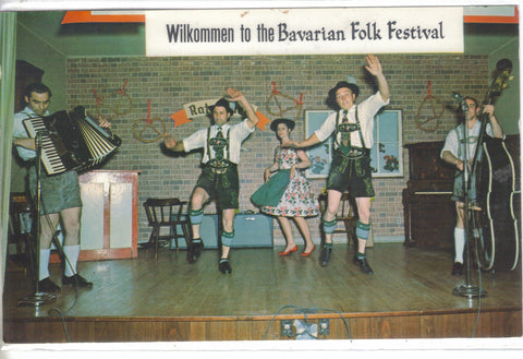 Bavarian Folk Festival-Frankenmuth,Michigan - Cakcollectibles