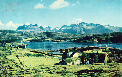 View near Oslo,Norway Postcard