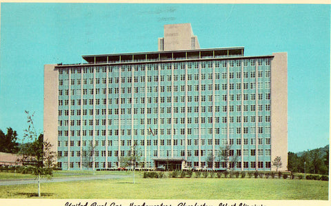 United Fuel Gas Headquarters - Charleston,West Virginia Postcard