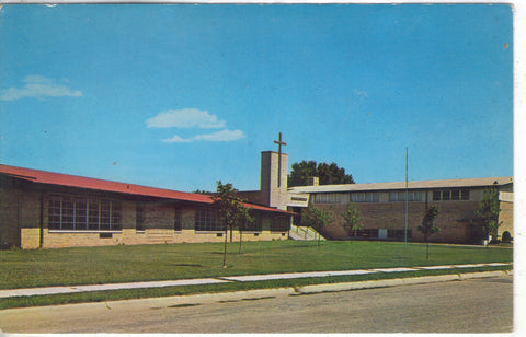 St. Williams Church-Janesville,Wisconsin - Cakcollectibles - 1