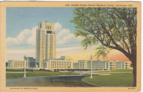 United States Naval Medical Center-Bethesda,Maryland - Cakcollectibles - 1