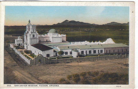 San Xavier Mission-Tucson,Arizona - Cakcollectibles - 1