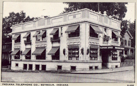 Indiana Telephone Co. - Seymour,Indiana