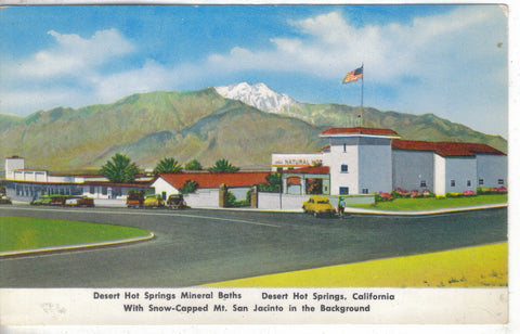 Desert Hot Springs Mineral Baths-Desert Hot Springs,California - Cakcollectibles - 1