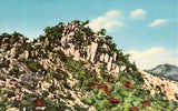 Shoshu-Ho As Top Of Washiuzan Hill- Seto Inland-Sea National Park Postcard