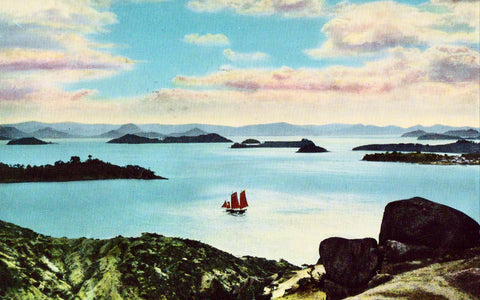 Grand View of Tato-Kai - Japan Postcard