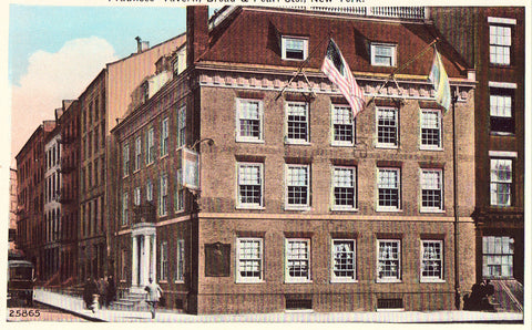 Fraunces' Tavern - New York City Postcard