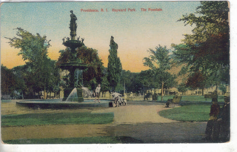 The Fountain,Hayward Park-Providence,Rhode Island - Cakcollectibles - 1