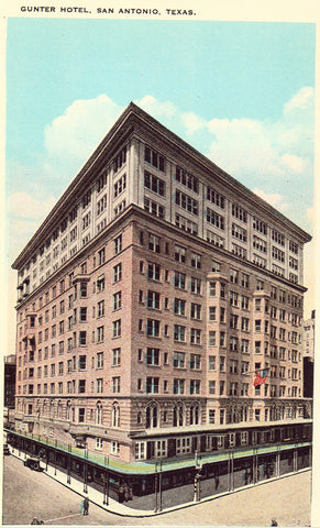 Gunter Hotel - San Antonio,Texas Postcard