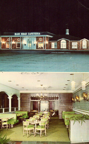 Blue Boar Cafeteria - Lexington,Kentucky Postcard