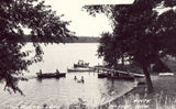 Indian Lake - McIvor,Michigan Postcard