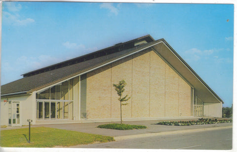 Gymnasium,Concordia Senior College-Fort Wayne,Indiana - Cakcollectibles - 1