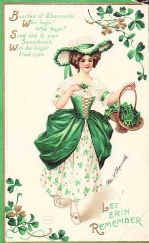 St. Patrick's Day Postcard - Clapsaddle