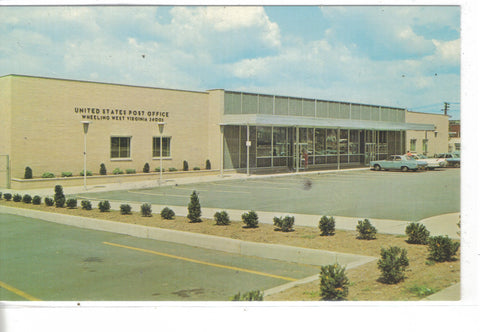 United States Post Office-Wheeling,West Virginia - Cakcollectibles - 1